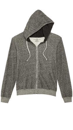 Save Khaki  - Long Sleeve Zip Hoodie