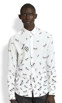 McQ Alexander McQueen - Razor-Print Sportshirt