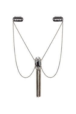 Topshop - Rinestone Drape Hair Chain