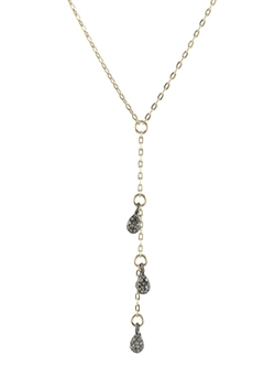 Peggy Li - Diamond Lariat Necklace
