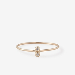 Steven Alan - Double Diamond Seed Ring