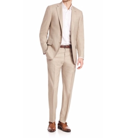 Isaia  - Tan Wool Suit