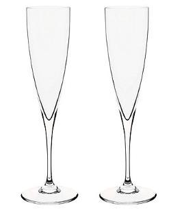 DOM PERIGNON - Baccarat Set of 2 Toasting Flutes
