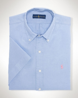 Ralph Lauren - Linen Short-Sleeved Shirt