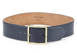W. Kleinberg - Wide Leather Belt