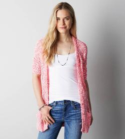 AEO  - Open Knit Cardigan