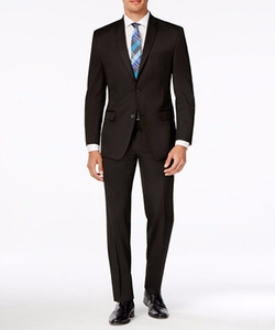 Marc New York By Andrew Marc - Classic-Fit Black Suit