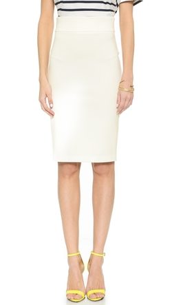 5th & Mercer - Back Zip Pencil Skirt