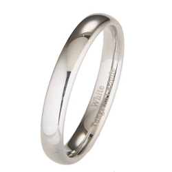 Metals Jewelry - Polished Classic Wedding Ring Band