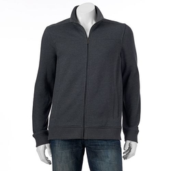 Apt. 9 - Zip-Front Sweater Jacket