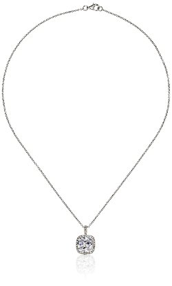 "Judith Jack - ""Shine On"" Sterling Silver Crystal and Cubic Zirconia Necklace"