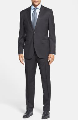 Hugo Boss - James/Sharp Trim Fit Microcheck Suit