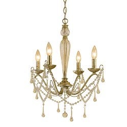 AF Lighting  - Sophia Candle Base Mini Chandelier