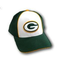 Reebok - Green Bay Packers White Front Baseball Cap