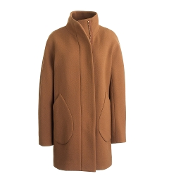 J.Crew - Patch-Pocket Cocoon Coat