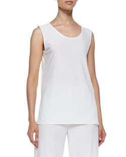 Caroline Rose   - Stretch Knit Long Tank
