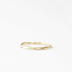 Blanca Monros Gomez - Plain Thin Wavy Band