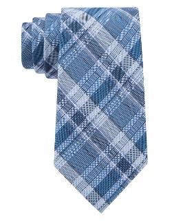 Calvin Klein  - Silk Plaid Tie