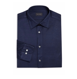 Pal Zileri - Regular-Fit Cotton Dress Shirt