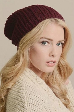 Pretty Little Things - Pointelle Beanie
