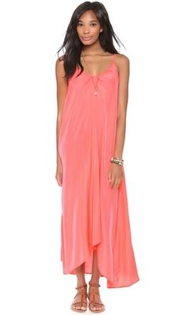 One By Pink  - Stitch Resort Maxi Dress