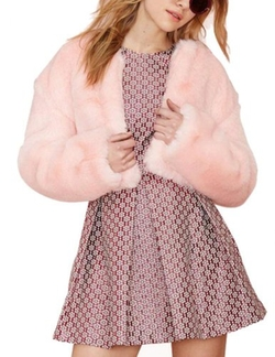 Neestaa  - Early In New Lady Sweet Faux Fur Jacket