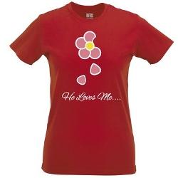 Tedim - Cute Floral Print T Shirt