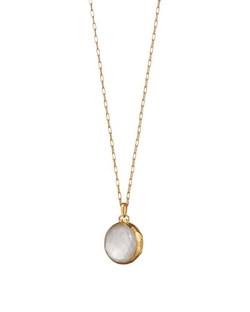 Monica Rich Kosann  - Mother-of-Pearl Locket Necklace