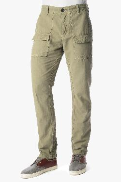 7 for all mankind - THE PATCH POCKET CARGO IN KHAKI