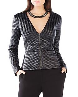 BCBGMAXAZRIA  - Pearson Faux Leather Jacket