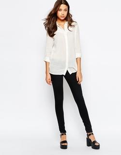 Vero Moda  - Tall Collarless Shirt