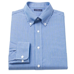 Croft & Barrow - Striped Button-Down Dress Shirt
