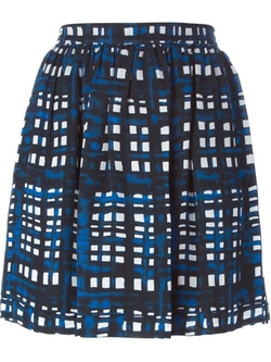 Thakoon Addition - Plaid Mini Skirt