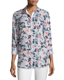 Lafayette 148 New York  - Sabira Bloom Blouse