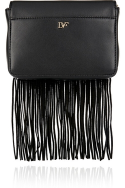 Diane Von Furstenberg  - Bellini Fringed Shoulder Bag