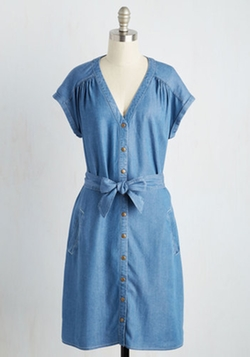 ModCloth - Chambray All Day Dress