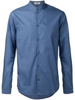Melindagloss - Mandarin Colar Shirt