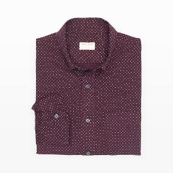 Club Monaco - Classic-Fit Mini Circle Shirt