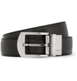 Dunhill  - Textured-Leather Belt