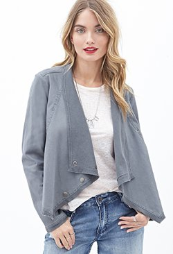 Forever21 - Draped Denim Jacket