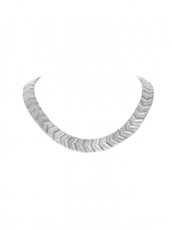 House Of Harlow 1960 Jewelry - Sidewinding Collar Necklace