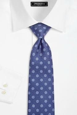 Isaia - Crepe Dot Silk Tie