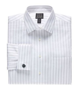 Jos.A.Bank - Spread Collar Barrel Cuff Stripe Dress Shirt