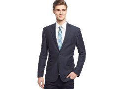 Kenneth Cole New York - Neat Slim-Fit Sport Coat