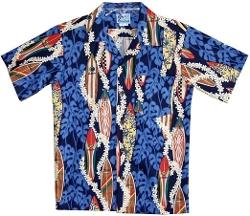 RJC  - Surfboard Lei Shirt