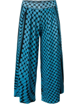 Lala Berlin - Printed Pleated Culottes