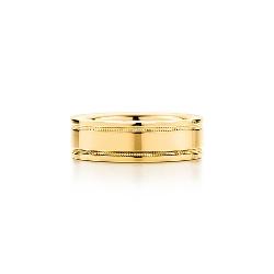 Tiffany & Co. - Milgrain Wedding Band Ring