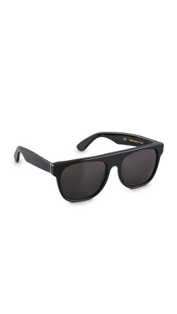 Super Sunglasses  - Flat Top Large Sunglasses