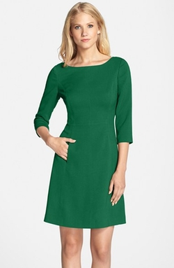 Vince Camuto - Crepe A-Line Dress