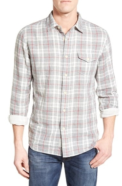 Grayers - Devon Trim Fit Plaid Sport Shirt